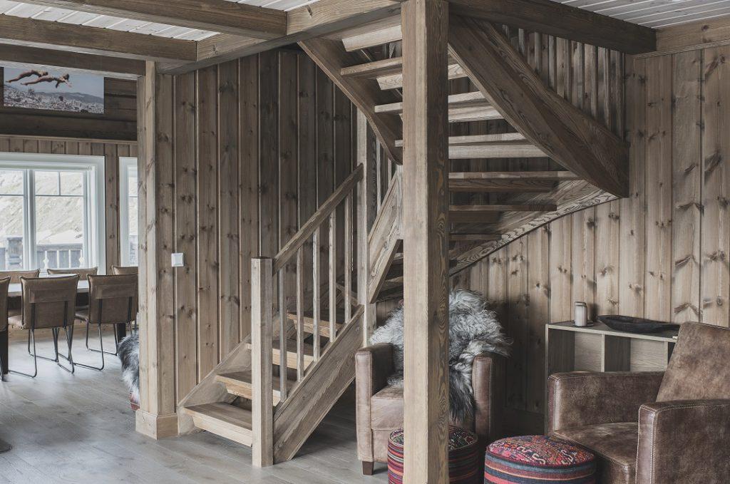 Klassisk stil trapp