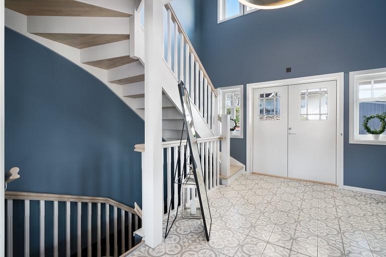 Klasisk stil trapp