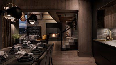 Luksuriøs hytte og trapper fra Xtrapp